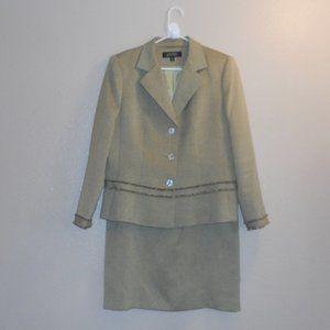 Vintage Kasper 2 pc skirt suit
